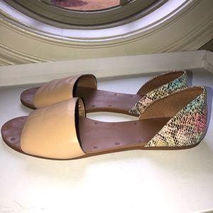 Gianni Bini d'Orsay Flat Open Toe Sandal